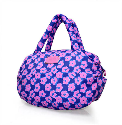3-way Shoulder Tote - Leopard Illusion - Pink