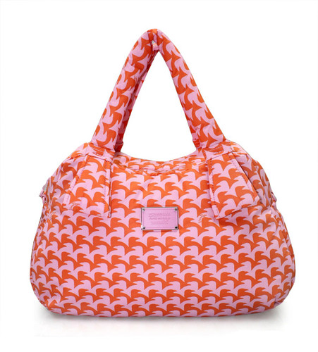 Ribbon Day Bag - Checker in Vogue - Pink
