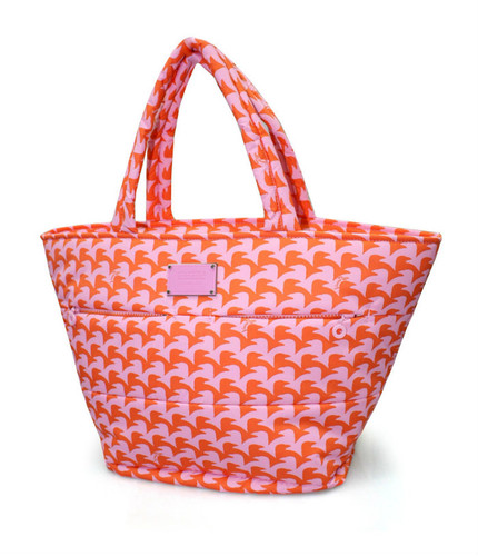 Padded Tote - Checker in Vogue - Pink