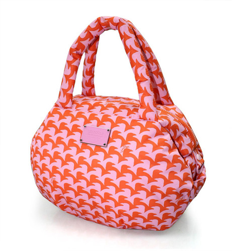 3-way Shoulder Tote - Checker in Vogue - Pink