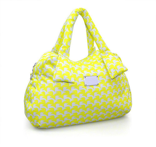 Ribbon Day Bag - Checker in Vogue - Yellow