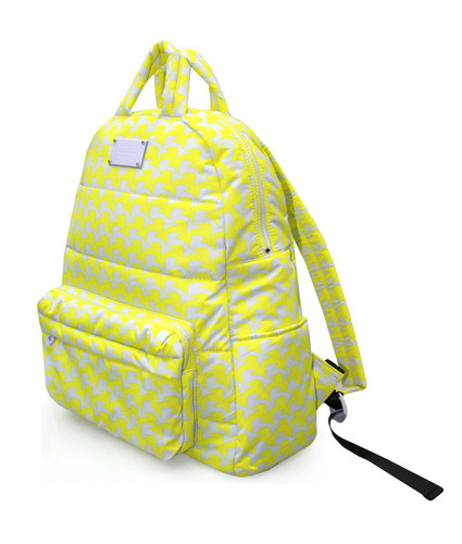 Backpack - Checker in Vogue - Yellow
