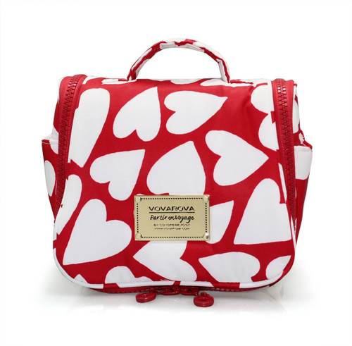 Toiletry Pouch - Endless Love - Red