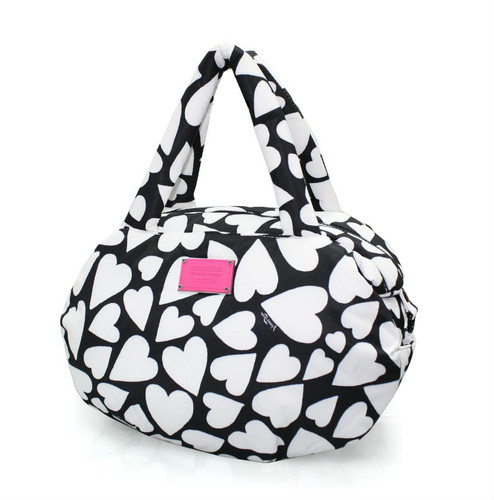 3-way Shoulder Tote - Endless Love - Black