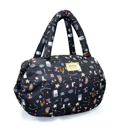 3way Shoulder Tote - Rock N Fun