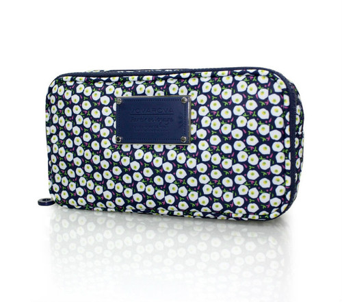 Compact Brush Case - Morning Glory Flower