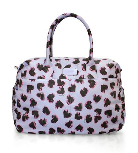 Boston Bag - SKETCHY LOVE - LAVENDER