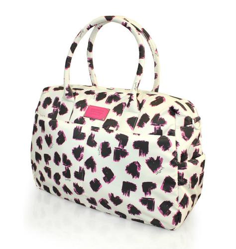 Boston Bag - SKETCHY LOVE - PEARL