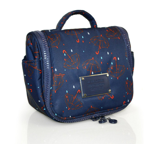 Toiletry Pouch - Singing in the rain - Blue