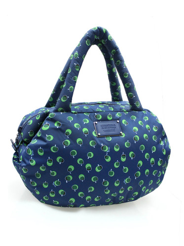 3way Shoulder Tote - Dotty Apple - Green