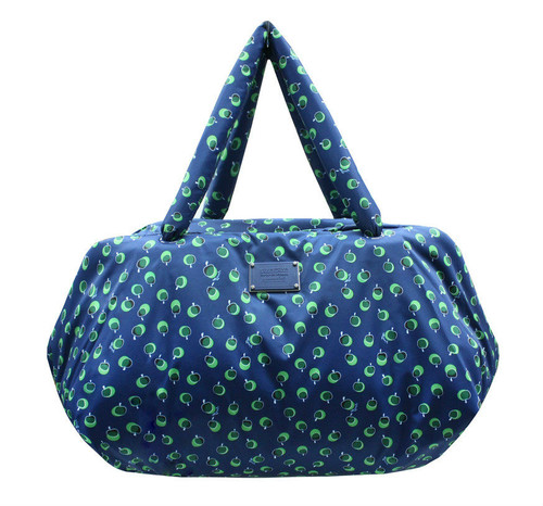 Travel Bag - Dotty Apple - Green
