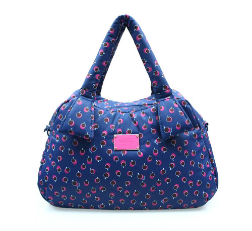Ribbon Day Bag - Dotty Apple - Pink