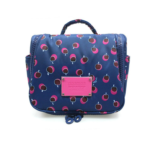 Toiletry Pouch - Dotty Apple - Pink