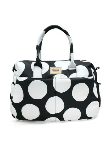 Boston Bag - Pop Dot - Black & White