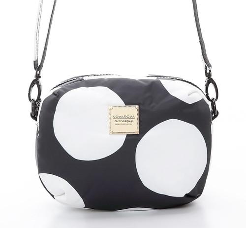 Mini Sling Bag - Pop Dot - Black & White