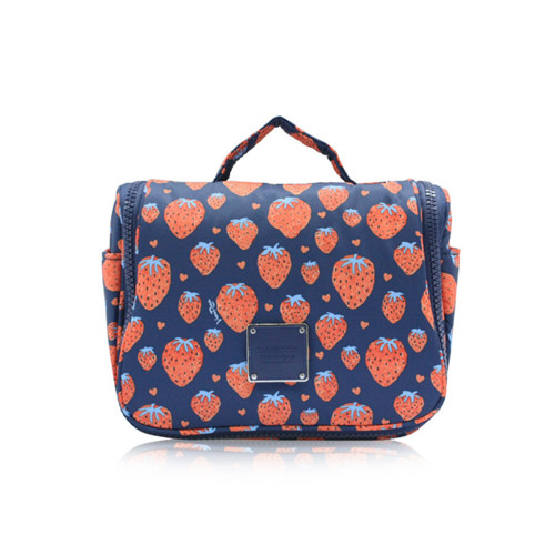 Travel Toiletry Bag - Strawberry