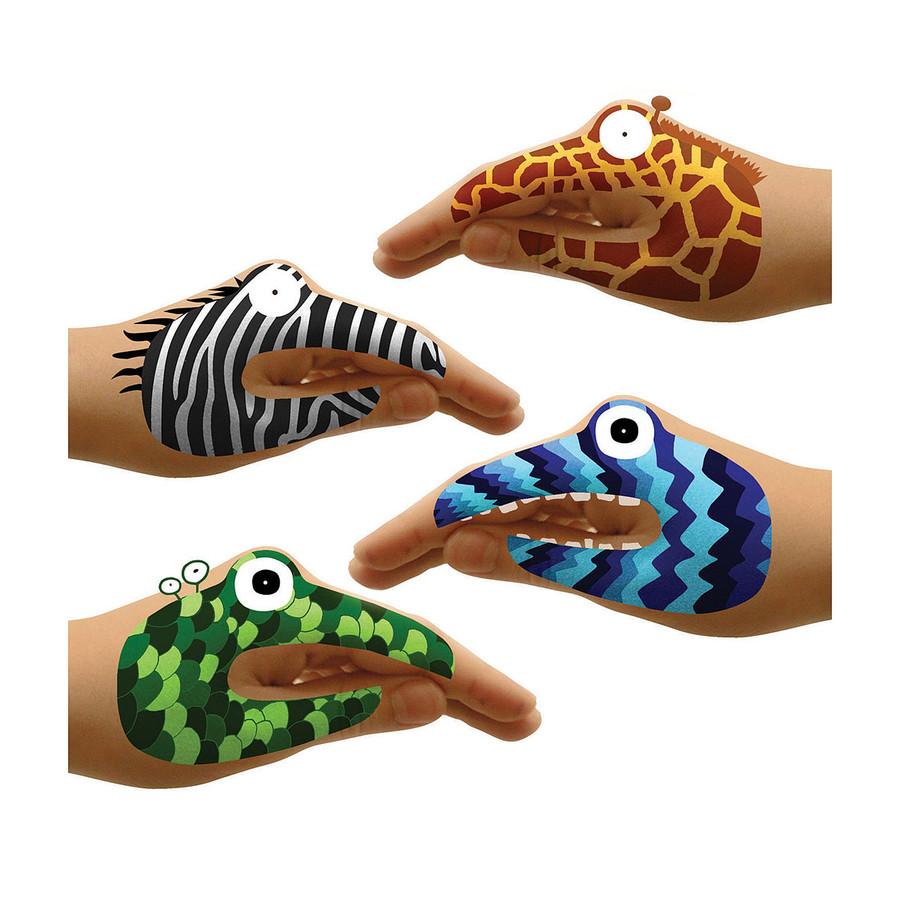 Animal & Monster Hand Tattoo Sets