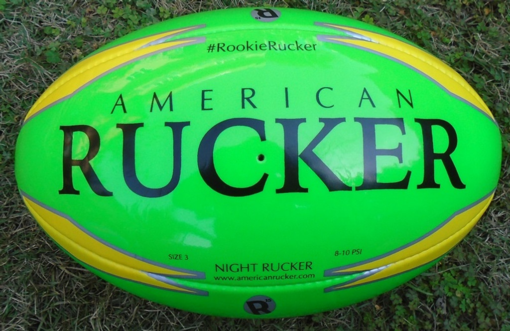Rugby Ball - Night Ball - Training Ball - Practice Ball - Rugby - Rugby Union - Gilbert Rugby - Rhino Rugby - Canterbury Rugby - Rugby Jersey - Rugby Shorts - Rugby Head Guard - Mouth Guard - American Rucker