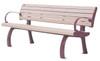 Da Vinci Bench with Backrest (and optional armrests)