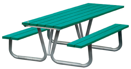 Public Place Series Picnic Table - Wheelchair Accessible