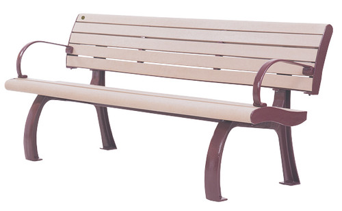 Da Vinci Bench with Backrest (and optional armrests)