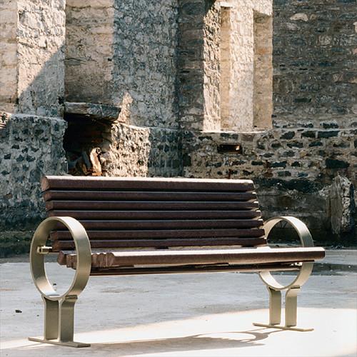 LaViolette Bench with Backrest
