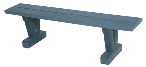 5' Park Series Straight Bench