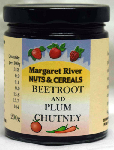 Beetroot & Plum Chutney