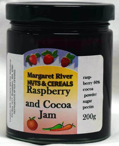 Raspberry & Cocoa Jam