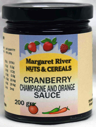 Cranberry Champagne & Orange Sauce