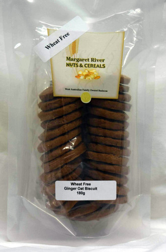 Wheat Free Ginger Oat Biscuit