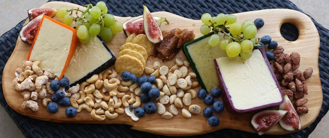 Feeling nutty? Have some wine with that cheese...