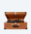 Traveller Turntable - Brown
