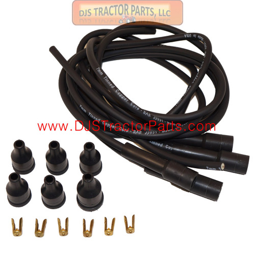 Spark Plug Wiring Set w/ Straight Boots - AC-228D
