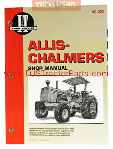 I and T Shop Service Manual - AC-202M