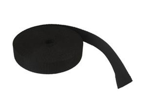 "Fuel Tank Webbing - Black 1"" - PRICE PER FOOT - 3510T82"