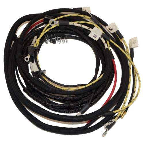 wiring harness kit tractors with 1 wire alternator allis chalmers rh stores djstractorparts com D 17 Allis Chalmers Wiring Schematic Allis Chalmers WD45