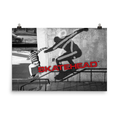 Skatehead Poster