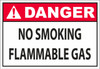 DANGER_no smoking flammable gas
