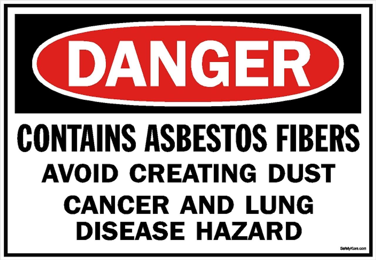 Asbestos1002-Danger-Asbestos-Avoid-Creating-Dust-Sign