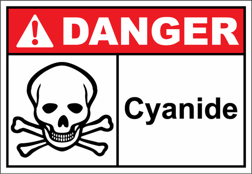 Danger Sign cyanide