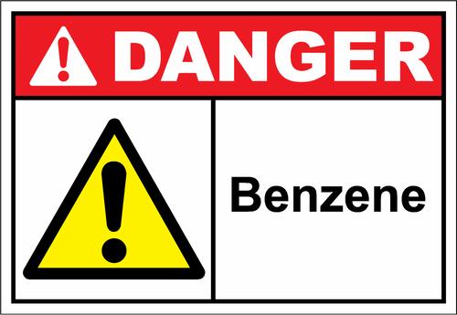 Danger Sign benzene