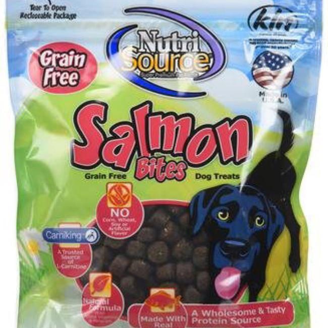 NutriSource Grain Free Bites Salmon
