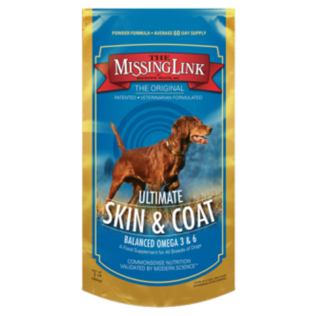 Missing Link Ultimate Canine Skin & Coat Formula for Large Dogs