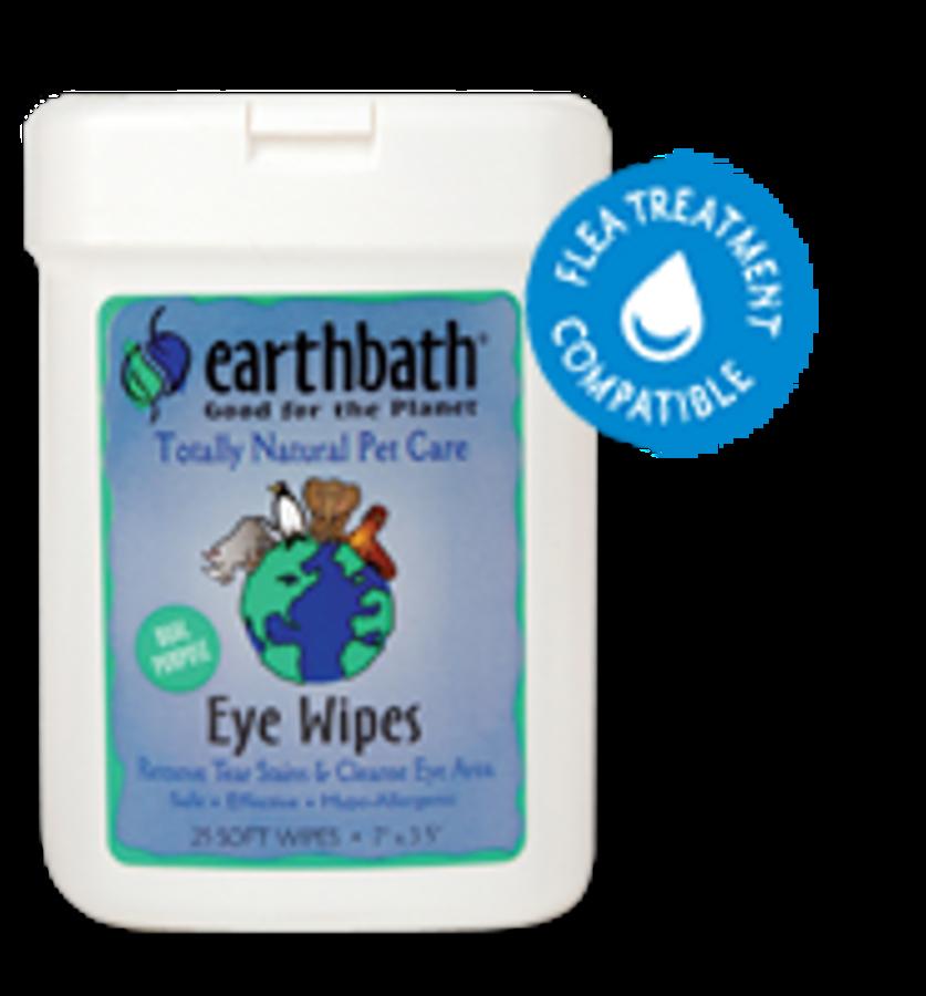 EarthBath Eye Wipes (25 Soft Wipes)