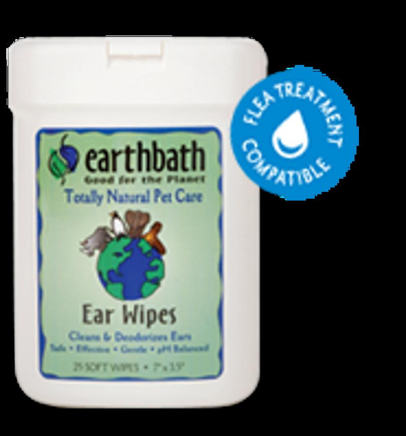 EarthBath Ear Wipes (25 Soft Wipes)