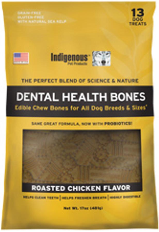 Indigenous Dental Health Bone - Roasted Chicken Flavor 17 oz