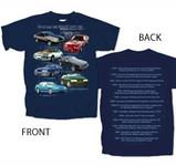 Fox Body Mustang Highlights T-shirt