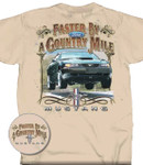 """Faster By A Country Mile"" T-Shirt"