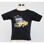 I'm the Boss 302 Toddler T-Shirt (Black)
